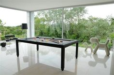 Fusion by Aramith. Ultimate luxury Pool Table with Dining Top. Free Delivery and Installation. Pool Table Cloth, Pool Table Dining Table, Dining Table Design, Pool Table Sizes, Leather Bench, Contemporary Furniture, Modern Design, Layout, Free Delivery