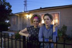 """The two actresses spoke with Indiewire about playing sisters in """"Fresno"""" and why having a """"dude around"""" on set """"changes things."""""""