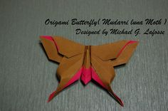 Origami Butterfly tutorial 016 // Origami Butterfly (Michael G. Lafosse) - How to fold an Origami Butterfly //  Provided by: www.standinnovations.com
