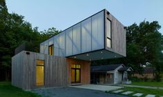 Arkansas university students designed this prefab cantilevering home for $136 per square foot | Inhabitat - Green Design, Innovation, Architecture, Green Building