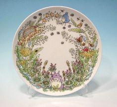 "My Neighbor Totoro ""dandelion"" 23cm plate, Noritake Special Collection (US $39.19)"