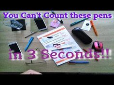 Can you count these pens? It should be easy but you may not be looking in the right place..