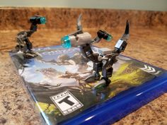 My son made some Watchers from Horizon Zero Dawn