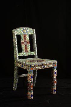 mosaic  chair !