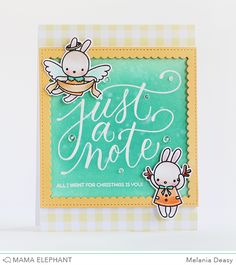 Mama Elephant Stamp Highlight Framed Tags- Union Square- Creative Cuts