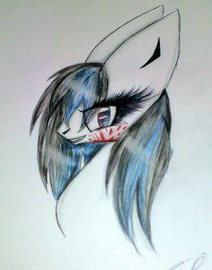 Random pony drawing by me