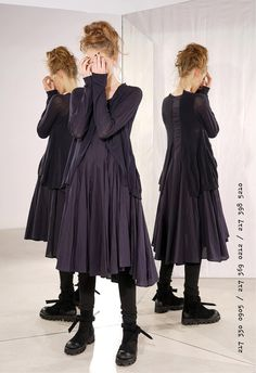 RUNDHOLZ at Walkers. We have the largest range of Rundholz Black Label, Dip and Mainline clothing available online. Mode Alternative, Alternative Fashion, Mode Outfits, Fashion Outfits, Womens Fashion, Mori Fashion, Mein Style, Moda Boho, Mori Girl