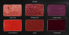 """Kylo Ren inspired eyeshadow palettes xx [Rey] [Han] [Luke] [Leia] [Finn and Poe] "" Beauty Makeup, Eye Makeup, Hair Beauty, Musical Hamilton, Lizzie Hearts, Smokey Eyes, Eyeliner, Mileena, Cheryl Blossom"