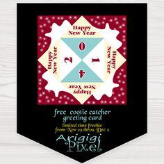 # printable greeting card # free - ArigigiArt