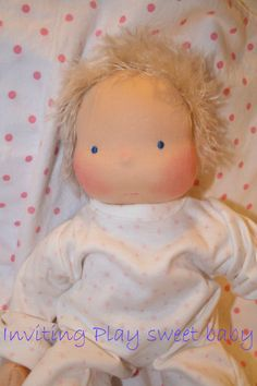 Waldorf Baby Doll Reserved for Holly by InvitingPlay on Etsy