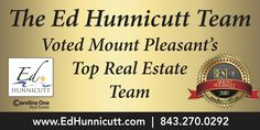 We are so honored to be voted Mount Pleasant's Top Real Estate Team 2017 and Mount Pleasant, Real Estate, Top, Real Estates, Crop Shirt, Shirts
