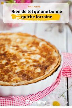 La fameuse quiche lorraine, une recette marmiton au top #recette #marmiton #recettemarmiton #cuisine #quiche #tartesalee #quichelorraine