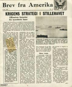 Brev fra Amerika  Brosjyren er lagt av norske myndigheter i Amerika for utdeling i det okkuperte Norge