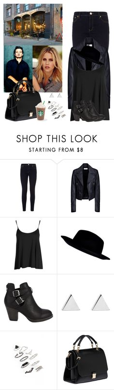 """""""Avengers / Captain America cast preferences : the outfit that you wore when you first met"""" by hitthisfeeling ❤ liked on Polyvore featuring MICHAEL Michael Kors, Balenciaga, Boohoo, River Island, Jennifer Meyer Jewelry, Topshop and Miu Miu"""