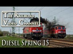Reagan to Ludmilla to Malaxa - Spring Diesel Tours 2015