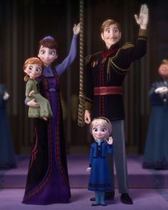 Anyone else notice that Anna has her moms smile, and Elsa has her dads Frozen Disney, Olaf Frozen, Frozen Snow, Frozen Art, Frozen Musical, Frozen Movie, Anna Und Elsa, Frozen Elsa And Anna, Frozen Wallpaper