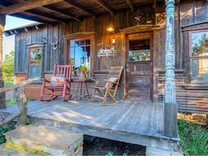 House Crush: Tour This Salvage Chic Tiny Lake House in Texas