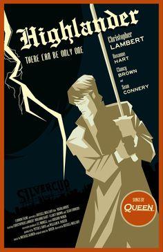 Highlander - movie poster - rodolforever.deviantart.com