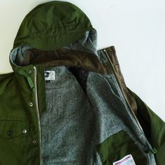 Engineered Garments Field Parka - Army Cloth - Silver and Gold Online Store ($200-500) - Svpply