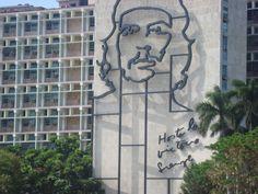 Plaza de la Revolución, Cuba.