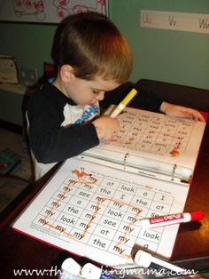 sight word mazes for preschoolers