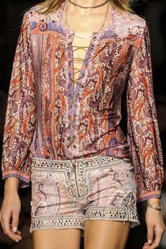 Isabel Marant Spring 2013 Ready-to-Wear Detail - Isabel Marant Ready-to-Wear Collection