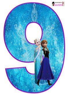 Frozen: Free Elsa and Ana Alphabet. Frozen: Bello Alfabeto Gratis de Elsa y Ana. Frozen Birthday Party, Frozen Tea Party, Frozen 1, Sofia The First Birthday Party, Birthday Party Themes, Frozen Free, Diy Crafts For 5 Year Olds, Frozen Cupcake Toppers, Kids Cartoon Characters