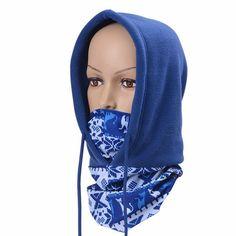 Men Women Full Face Mask Fleece Cap Neck Warmer Hood Winter Sports Ski Hat