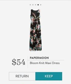 34a125da7196 Papermoon Bloom knit Maxi Dress Knit Dress, Stitch Fix, Bloom, Mesh Dress