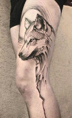 As 60 melhores tatuagens de lobo