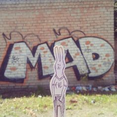 yes, this is me, urban animal - rabid, evil and slightly mad. #streetart #graffiti #urban #mad #vilnius