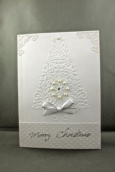 pretty Christmas card I'd like to make