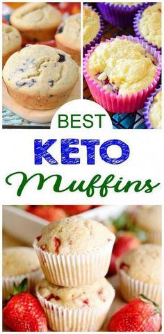 Are you tasting a delicious muffin on the ketogenic diet? Here are some of the BEST keto muffin recipes. Easy low carb muffin ideas that make a great treat, snack, dessert or grab and go breakfast. Find many different kinds of keto muffins Ketogenic Diet Starting, Ketogenic Diet For Beginners, Ketogenic Foods, Diet Foods, Keto Diet Drinks, Keto Snacks, Keto Desserts, Walt Disney World, Keto Muffin Recipe