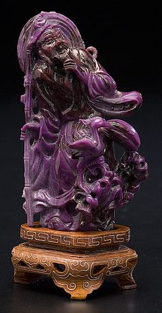 Chinese Carved Sugilite Immortal