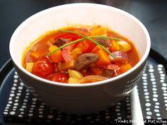 Gulasj-suppe