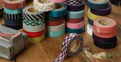 washi tape is the perfect way to seal a card or add some flair to any gift wrapping! Not to mention, millions of other uses!