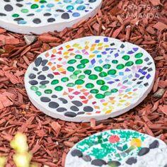 Garden Stepping Stones   Fun Family Crafts