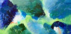 Sea Glass David M. Kessler. Art. Abstract Art.  www.davidmkessler.com