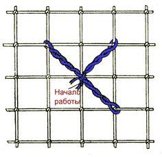 Шов крест (неполный крест)