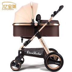 High landscape Brand Baby Stroller Can Sit Baby Stroller Travel Stroller Folding Kid Trolley Strollers for Baby Boom Dolls