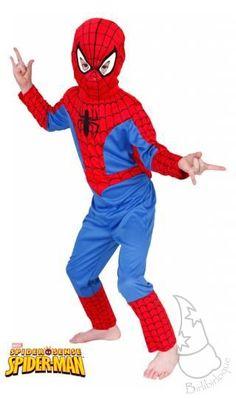 Disfraz de Spiderman Infantil - birlibirloque santutxu Disfraz Spiderman b3788c13319