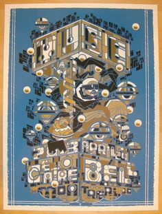 2013 Muse - Montreal II Concert Poster by Guy Burwell