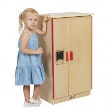 Kitchen Playset: Birch Play Kitchen - Refrigerator