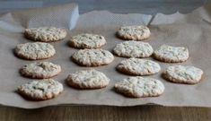 Mandlovo-limetkové sušenky bez vajíček - TASTE Actually Lemon Crinkle Cookies, Crinkles, Recipes, Food, Lemon, Recipies, Essen, Meals, Ripped Recipes