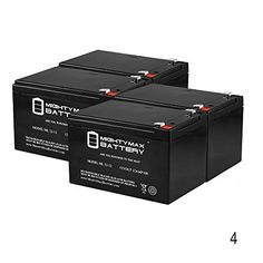 12V 12Ah F2 Shredder Spartan Sport FS102 FS105 Scooter Battery 4 Pack Mighty Max Battery brand product ** Find out more about the great product at the image link.