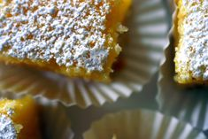 The best lemon bars. No really, the best. Just Desserts, Delicious Desserts, Yummy Food, Lemon Desserts, Yummy Yummy, Delish, Brownies, Yummy Treats, Sweet Treats