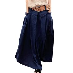 Cheap Skirts on Sale at Bargain Price, Buy Quality skirt fabric, linen suits for ladies, linen embroider from China skirt fabric Suppliers at Aliexpress.com:1,Style:Casual 2,Season:2014 Spring Summer 3,Decoration:Sashes 4,Dresses Length:Floor-Length 5,Pattern Type:Solid