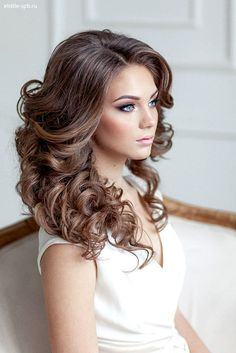 Wedding Hairstyles For Long Hair - Soft Waves and Curls