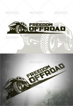 Freedom Offroad  - Logo Design Template Vector #logotype Download it here: http://graphicriver.net/item/freedom-offroad-logo-templates/4652165?s_rank=136?ref=nexion
