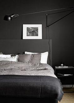 Une chambre noire comme un cocon